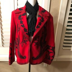 Embroidered Peter Nygard jacket Size 14
